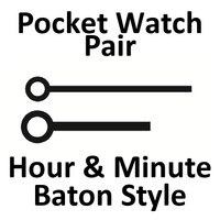 HANDS - POCKET WATCH-HOUR AND MINUTE - BATON.jpeg